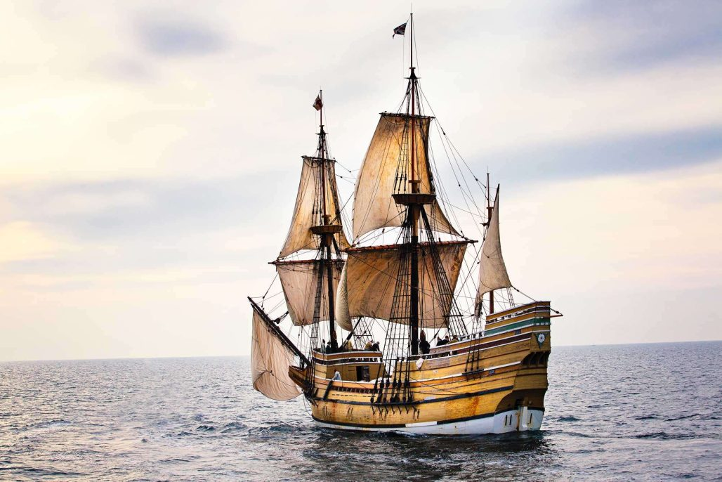 Mayflower Sail Along