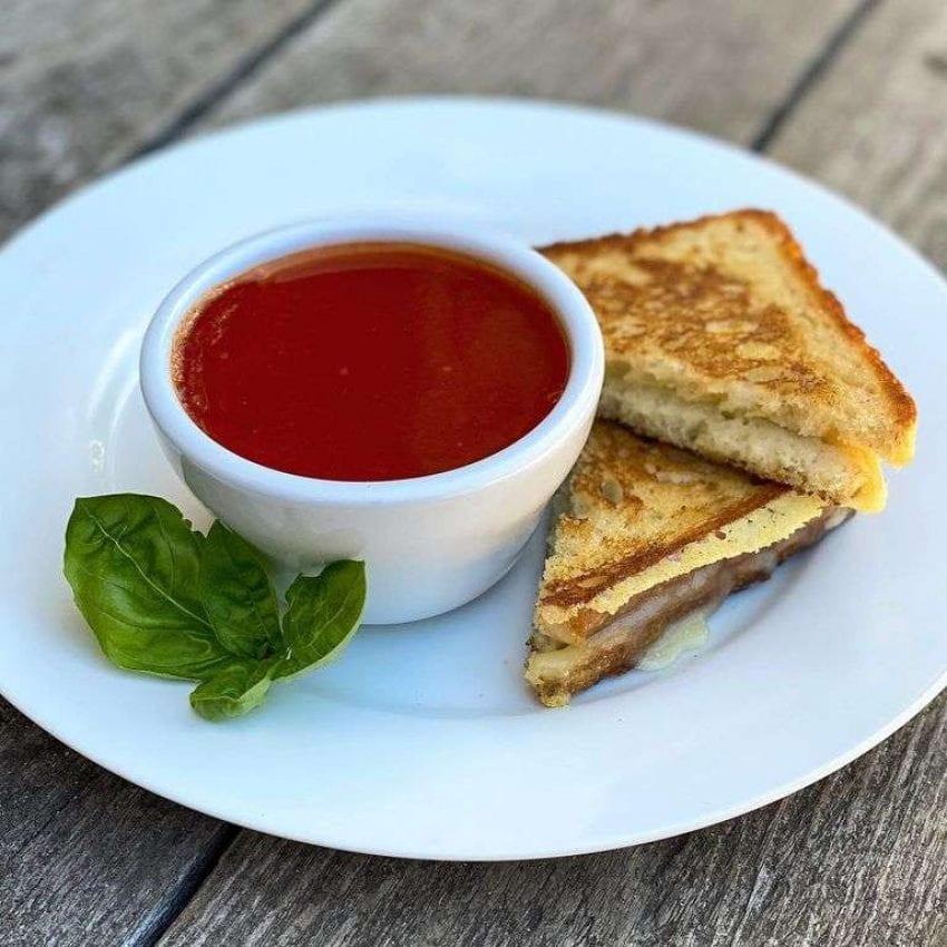 Bramhall's tomato soup