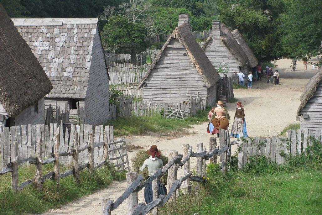 Plimoth Plantation village
