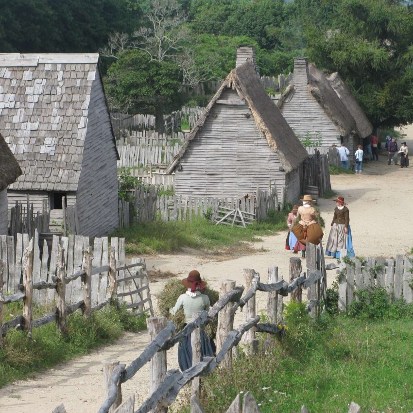 Plimoth Plantation village