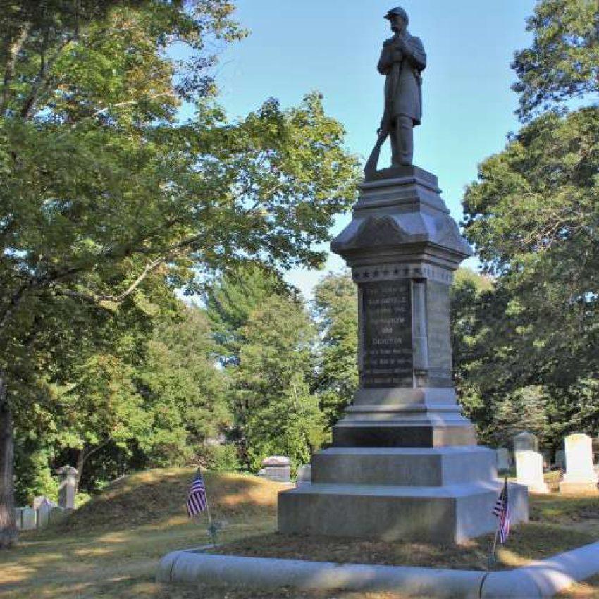 Civil War Memorial Marshfield MA