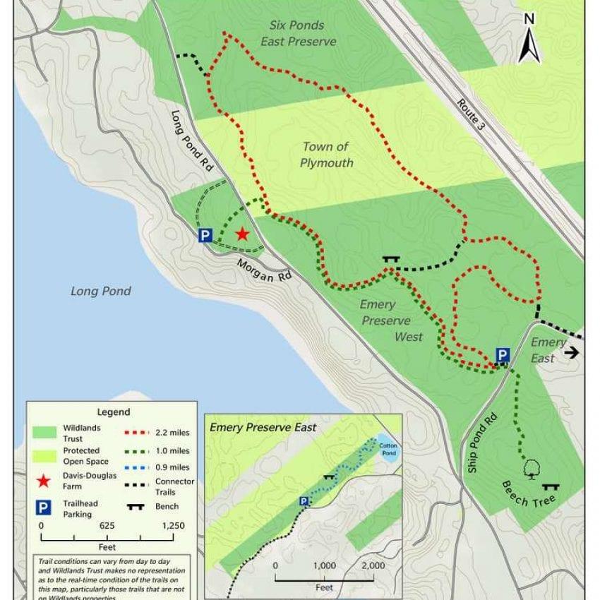 Davis-Douglas Conservation Area Plymouth MA