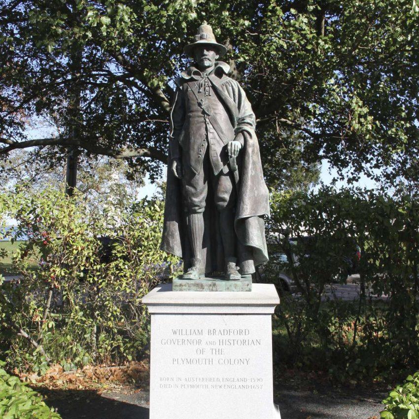 Governor Bradford statue