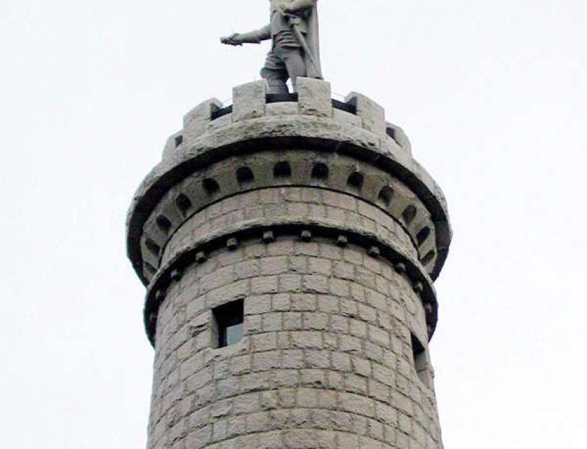 Myles Standish Monument
