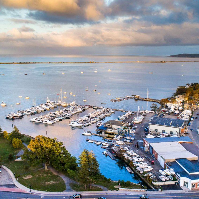 Plymouth MA Harbor - Hawk Visuals