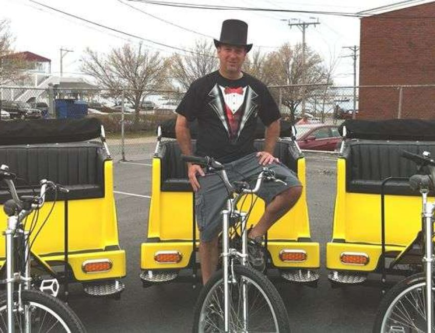 Plymouth Pedicab bikes