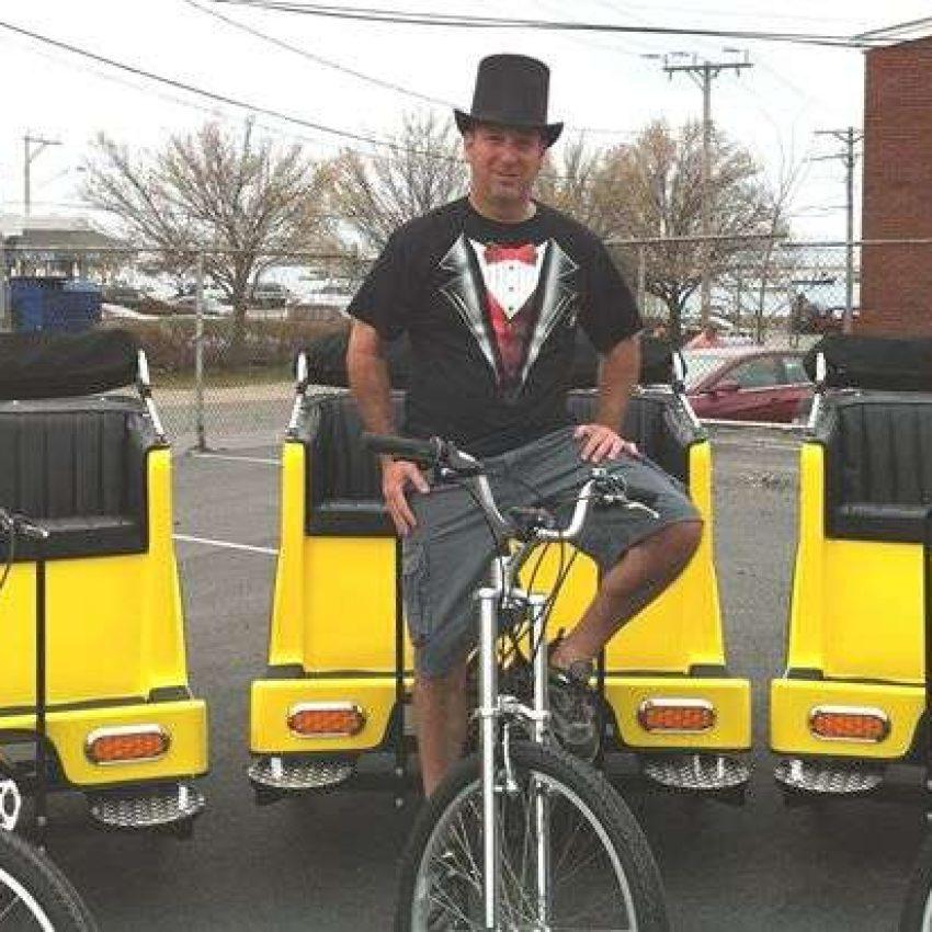 Plymouth Pedicab bikes
