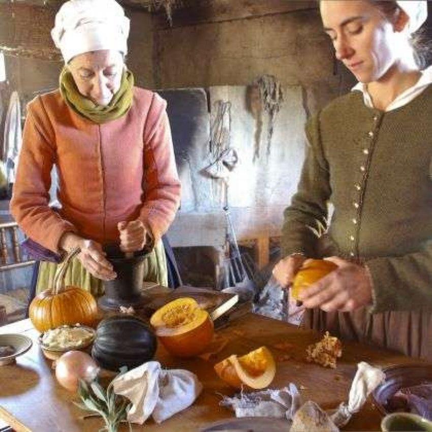 Plimoth Plantation dining