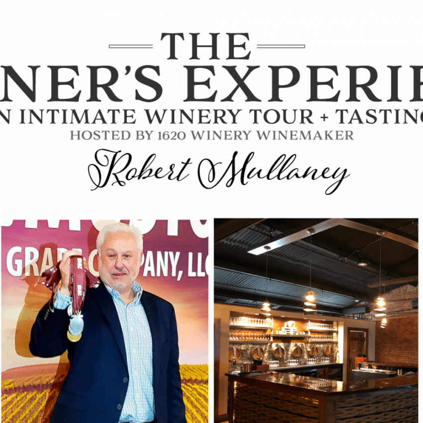 1620 Winery Vinter's Experience