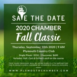 Plymouth Area Chamber Golf