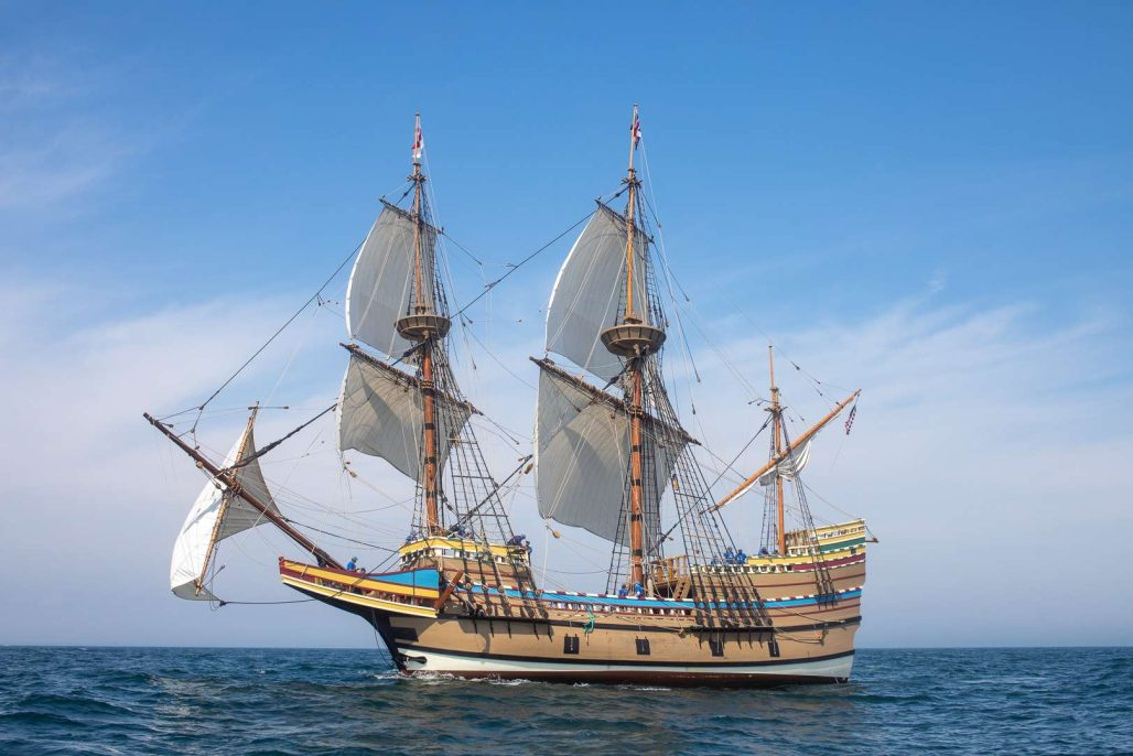 Mayflower II after restoration