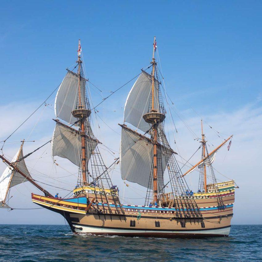 Mayflower II after restoration