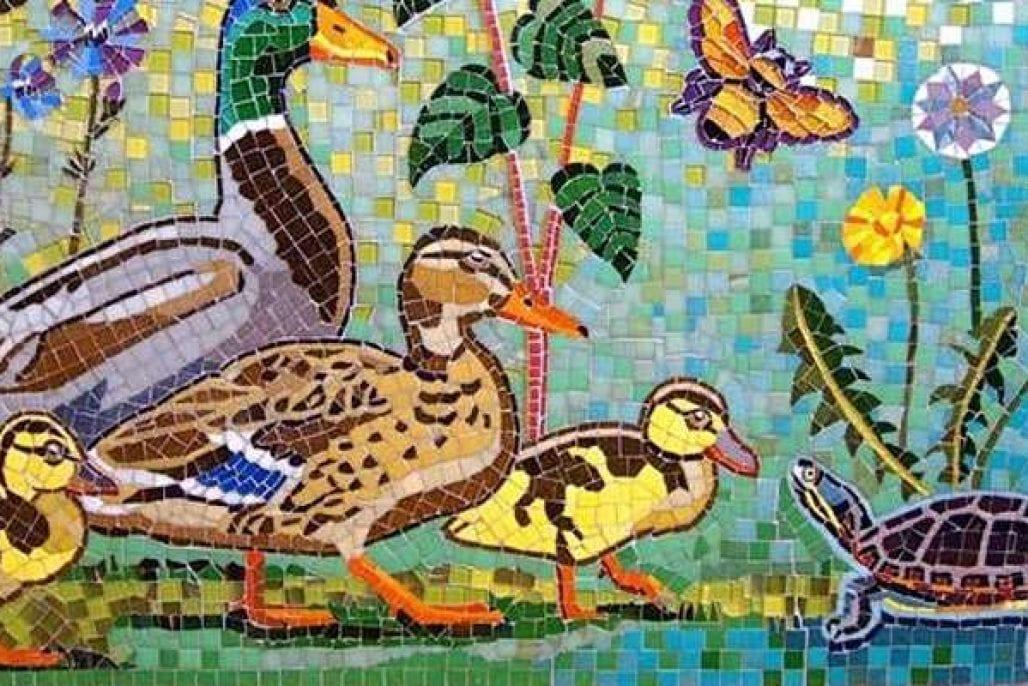 Fuller Craft Museum mosaics