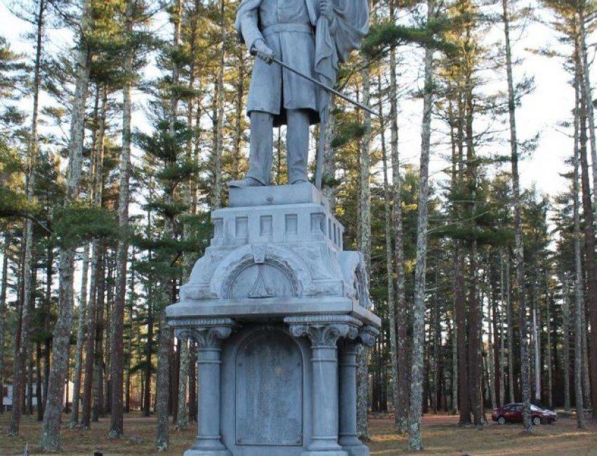 Carver Mass Civil War Veterans Memorial
