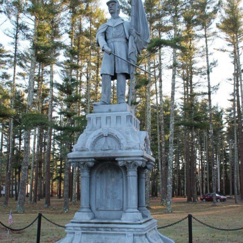 Carver Mass Civil War Veterans Memorial