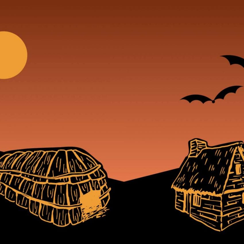 Plimoth Patuxet spooky halloween