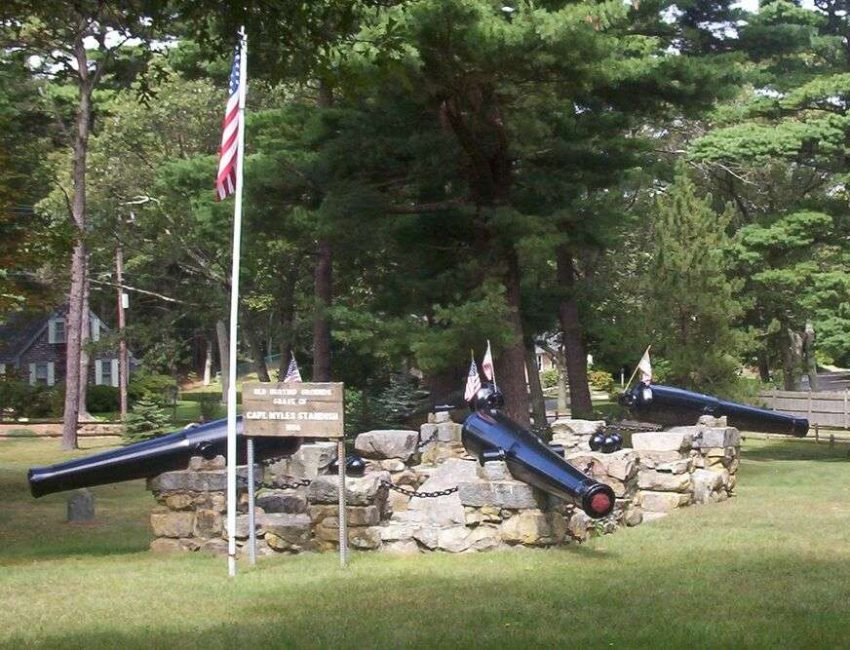 Myles Standish Burial Site