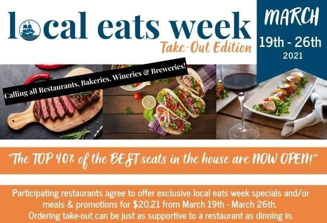 Plymouth Area Chamber of Commerce local eats week