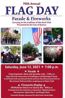 Quincy Flag Day Parade & Fireworks