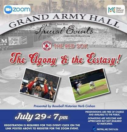 Boston Red Sox Grand Army Hall event
