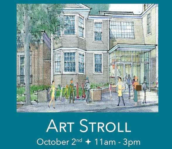 Plymouth Center for the Arts stroll