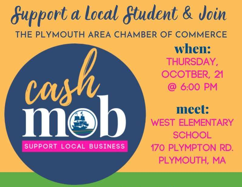 Plymouth Area Chamber cash mob
